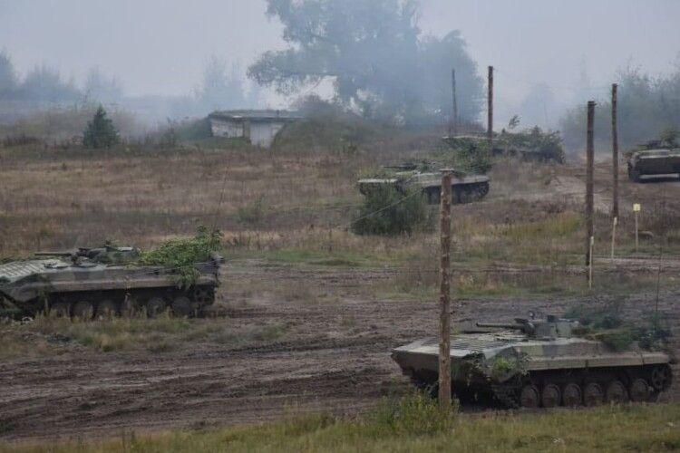 Як воїни 14 Омбр з Володимира разом зі словацькими атакували умовного противника (Фото)