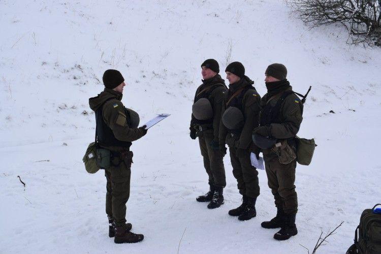 У луцькій військовій частині  провели бойові стрільби