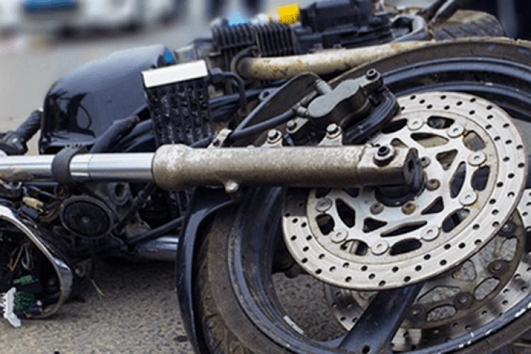 У Луцьку легковик збив мотоцикліста (Відео)