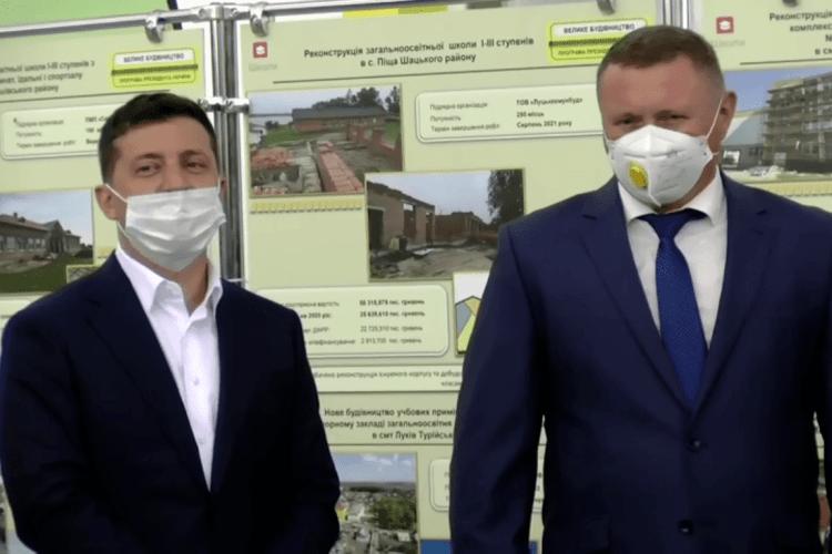 Зеленський на Волині розповів про домовленості з головами ОДА (Відео)