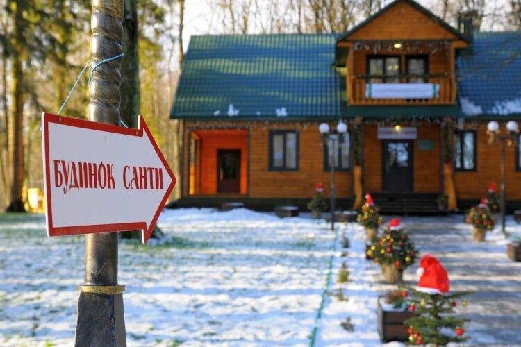 У Волинському лісі на новорічні свята оселиться Санта з ельфами