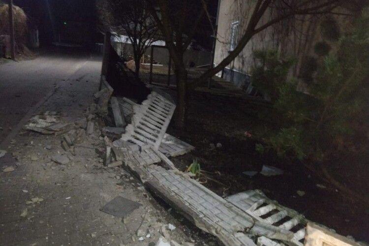 На Волині п'яний поляк спричинив ДТП (Фото)