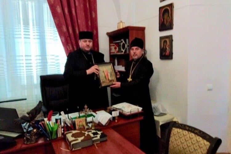 Волинський храм отримав частину мощей Святого князя Володимира