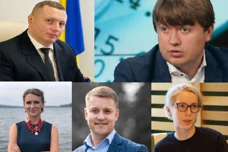 Нардеп з Волині і голова ОДА потрапили у ТОП–100 найперспективніших українських політиків