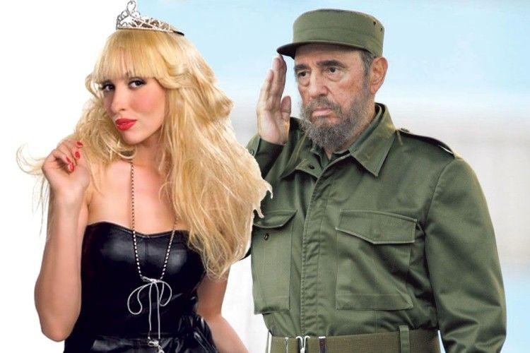 Олі Поляковій вдалося посмикати за бороду Фіделя Кастро