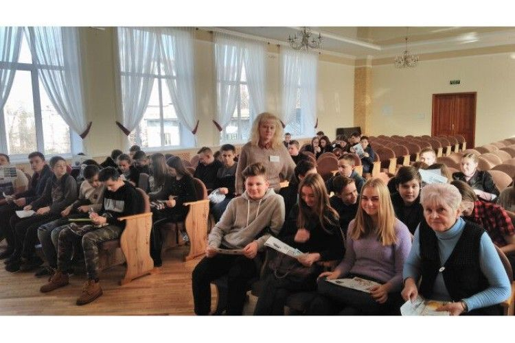 Для учнів Луцької школи № 15 провели ознайомлення з правилами вибору професії