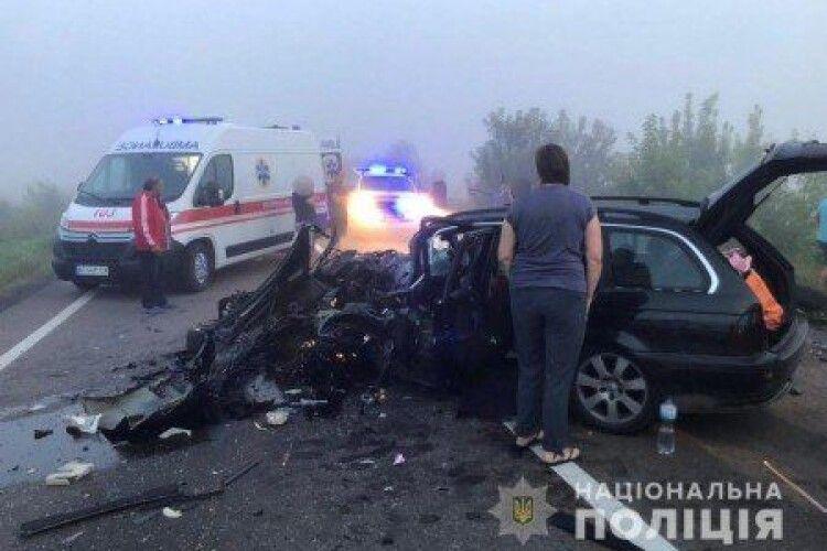 Відомо про стан потерпілих в автотрощі на трасі Луцьк-Горохів