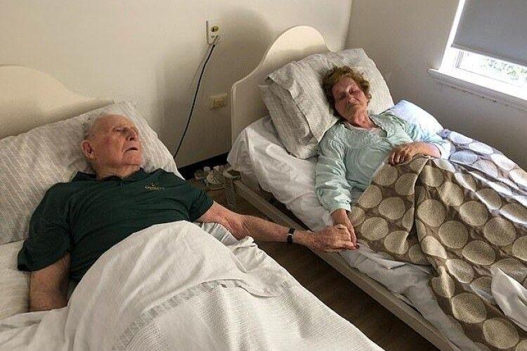 Пара прожила 70 років у шлюбі і померла в один день (Фото)