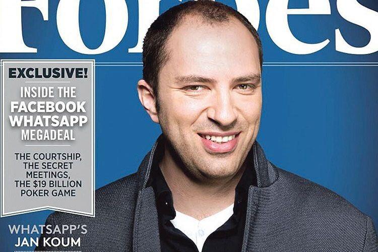 Виходець з України Ян Кум винайшов WhatsApp  і став мільярдером (Фото)