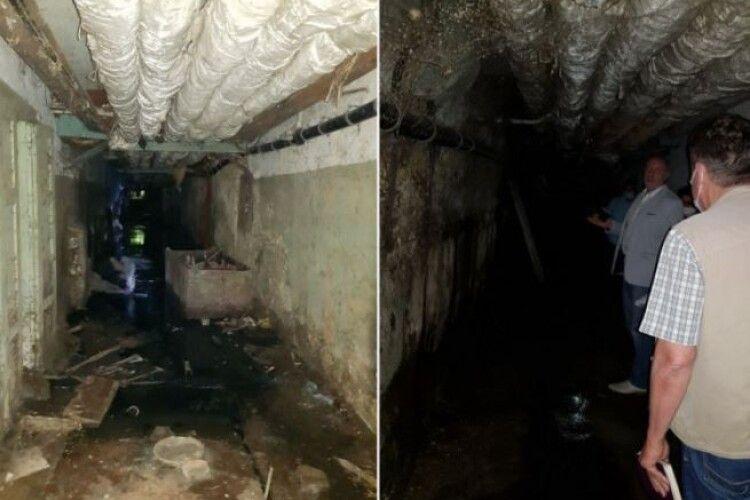 Волинські медики просять з бюджету 300 тисяч гривень, щоб нечистоти не затоплювали підвал лікарні