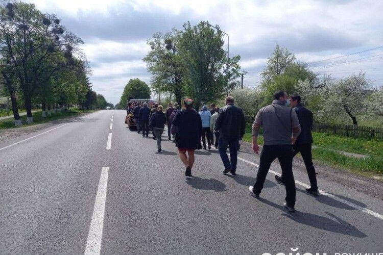 На Волині похоронили воїна АТО (Фото, відео)