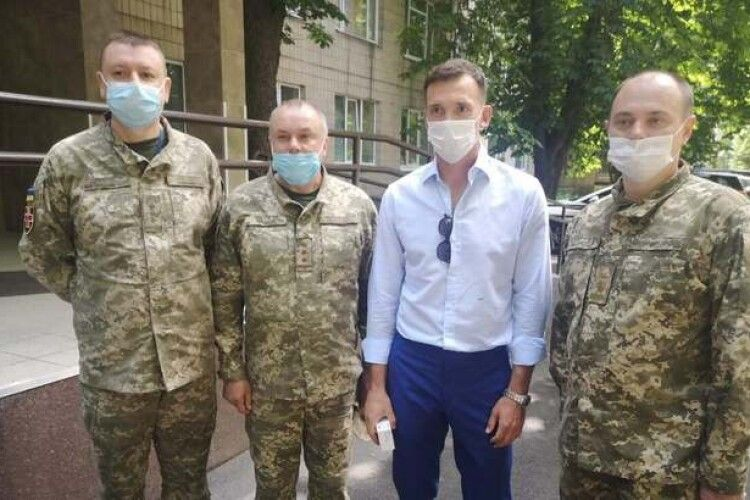 Андрій Шевченко відвідав військовий шпиталь