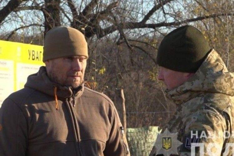 Правопорядок у Золотому охороняють посилені патрулі поліції та Нацгвардія