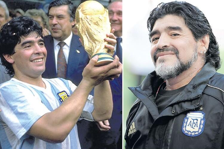 Марадона-гравець кохався навіть у перерві матчів