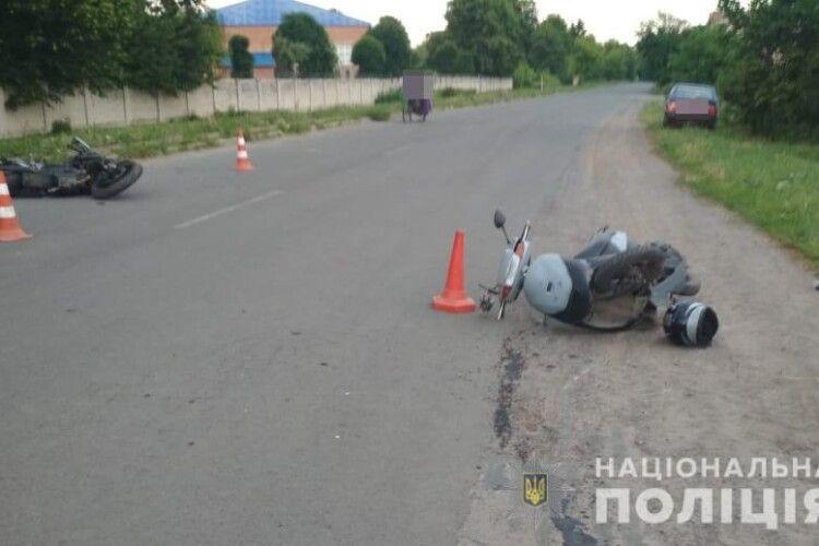 У Луцьку в ДТП постраждали двоє 14-річних дітей