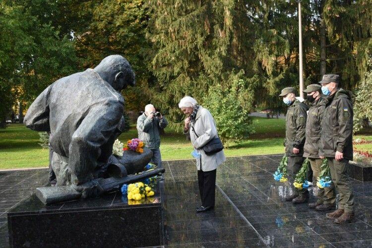 На Волині вшанували пам'ять загиблих з нагоди річниці з Дня визволення України від нацистських загарбників