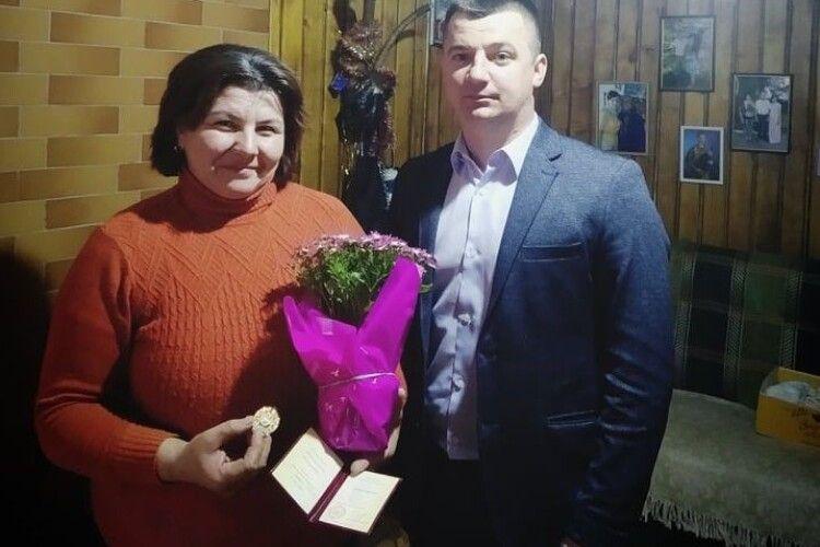 Президент вшанував жінку-берегиню з волинського села