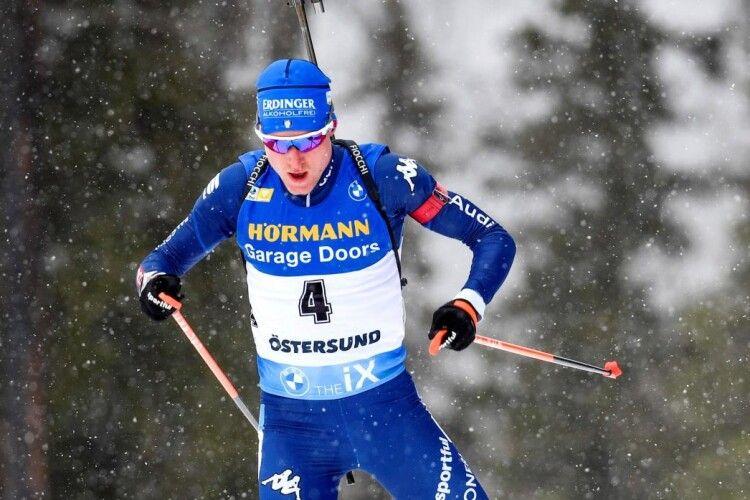 Українські біатлоністи також були статистами під час спринтерської гонки в Естерсунді