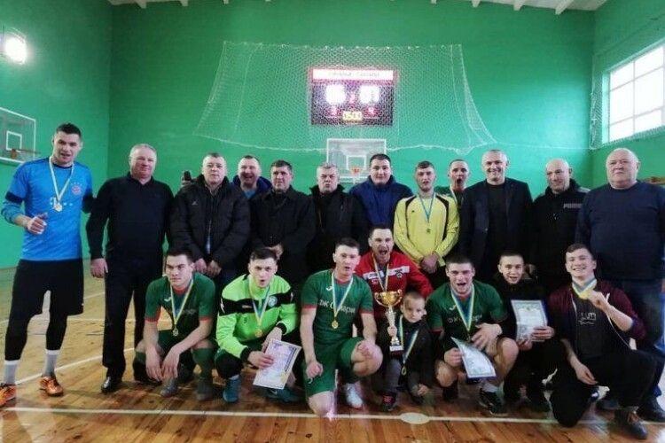 Самарівські футболісти – чемпіони району з міні-футболу