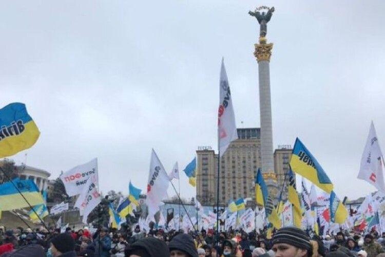 ФОПи на Майдані вимагають скасувати січневі обмеження і планують «завітати» на концерт «Кварталу-95»