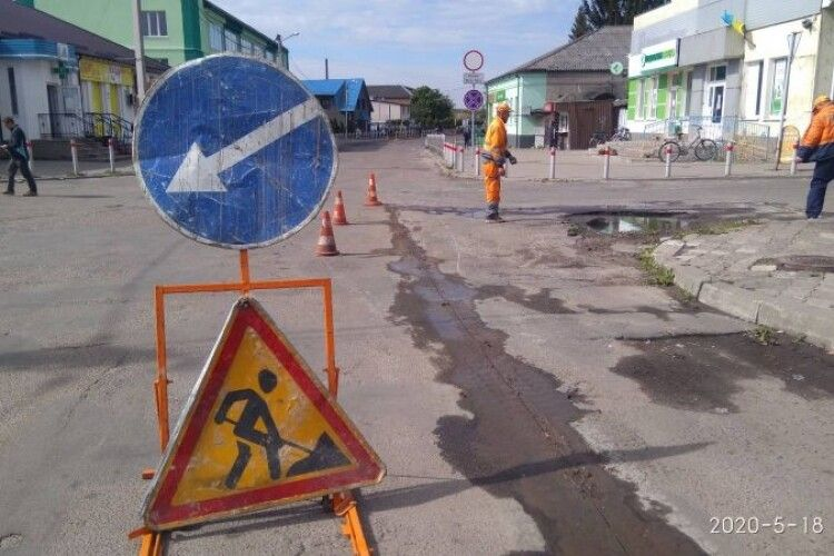 У Ківерцях поремонтували вулицю
