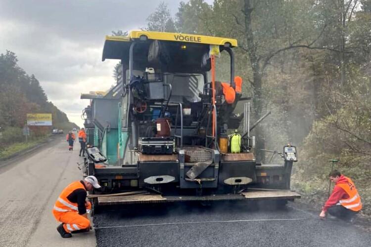 Стартував ремонт дороги, яка сполучає Львівську та Волинську області