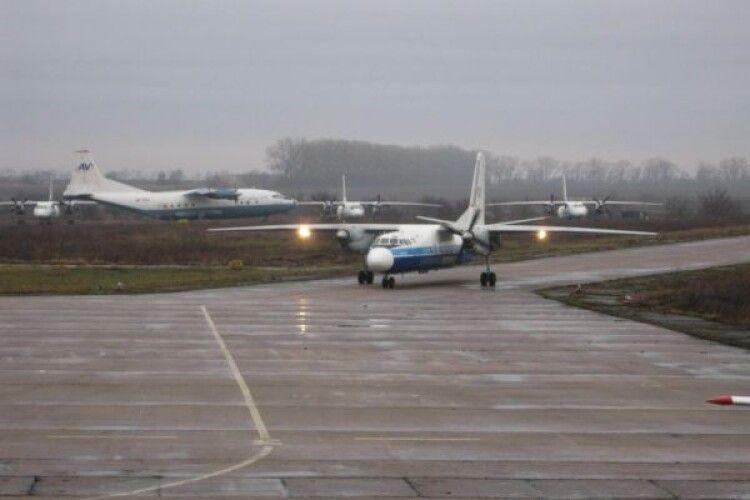 В бюджеті Рівненщини передбачили 2 млн гривень для рівненського аеропорту
