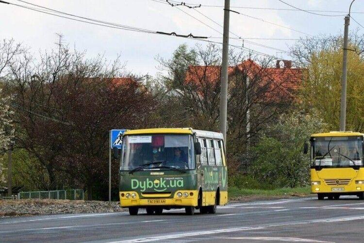 Нагадують графік руху автобусів у Провідну неділю з Луцька до кладовища в Гаразджі