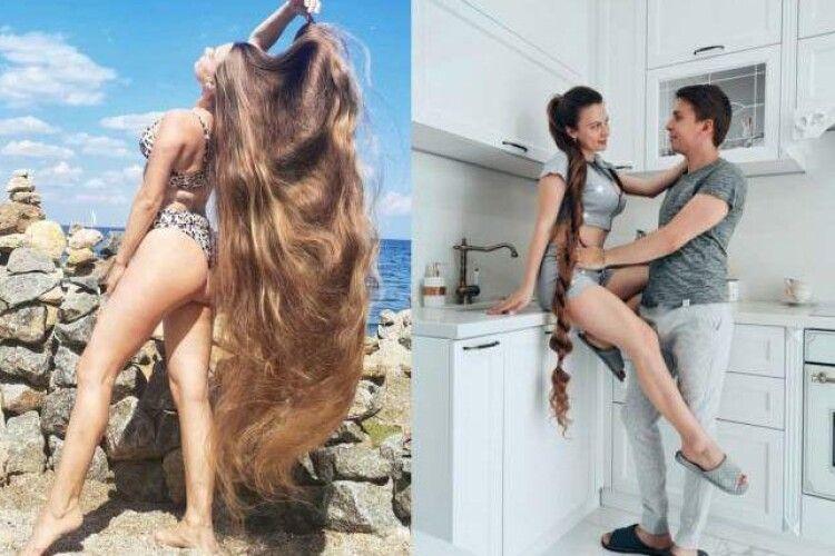 Знайшли українку, яка ніколи не стригла волосся