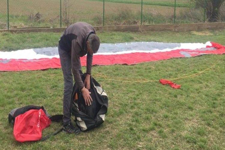 На Закарпатті прикордонники затримали парашутиста
