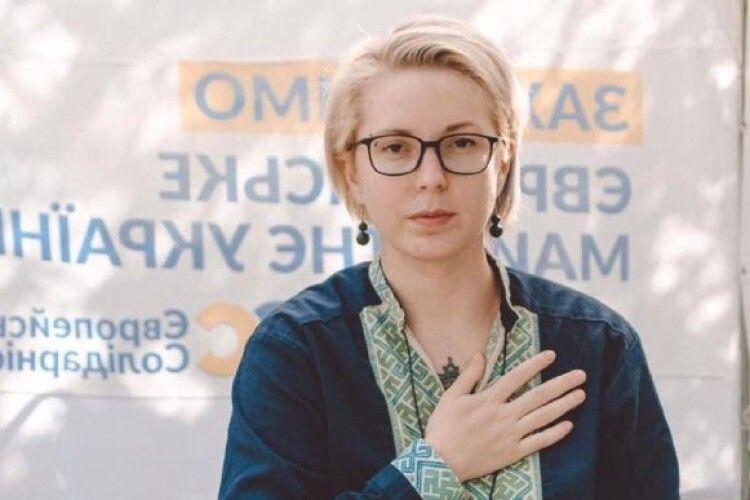 Рівнянка Яна Зінкевич вдруге захворіла на коронавірус