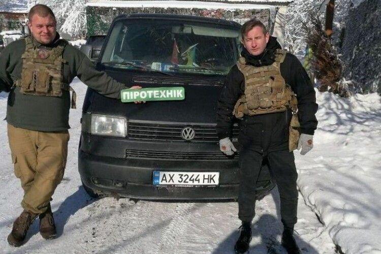 Жадан: волонтер «Піротехнік» йде в міську раду від «ЄС»