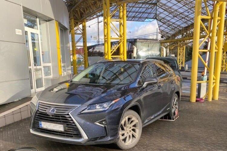 На «Ягодині» виявили викрадене у Німеччині люксове авто