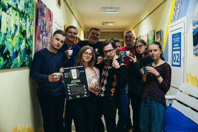 Проєкт  #своє_горнятко молодіжної організації з Нововолинська визнаний найкращим у сфері екології