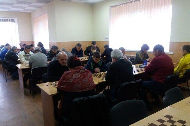 У Луцьку відбувся шашковий турнір