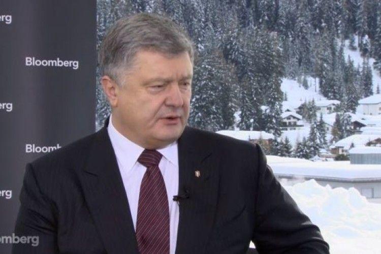 Порошенко у Давосі заявив, що заради траншу від МВФ уряд Гройсмана готовий підвищити ціни на газ