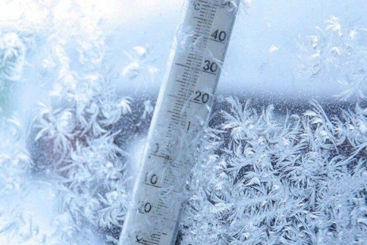 На Україну сунуть сильні морози: на Волині передають до мінус 30°