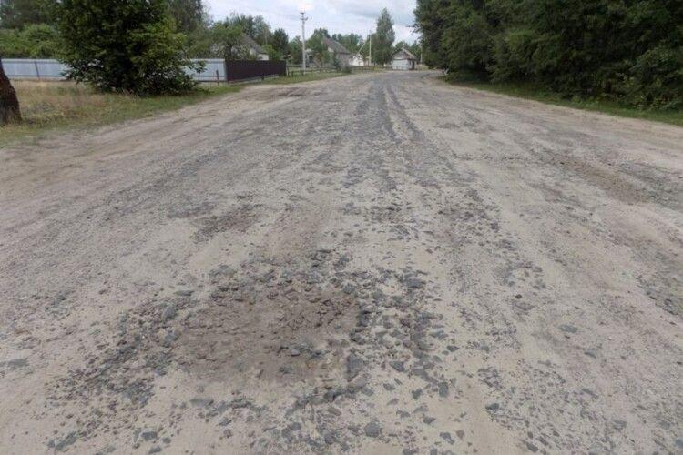 На Любешівщині відремонтують дорогу за понад мільйон гривень
