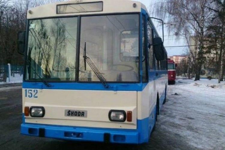 У Рівному дали нове життя старому тролейбусу