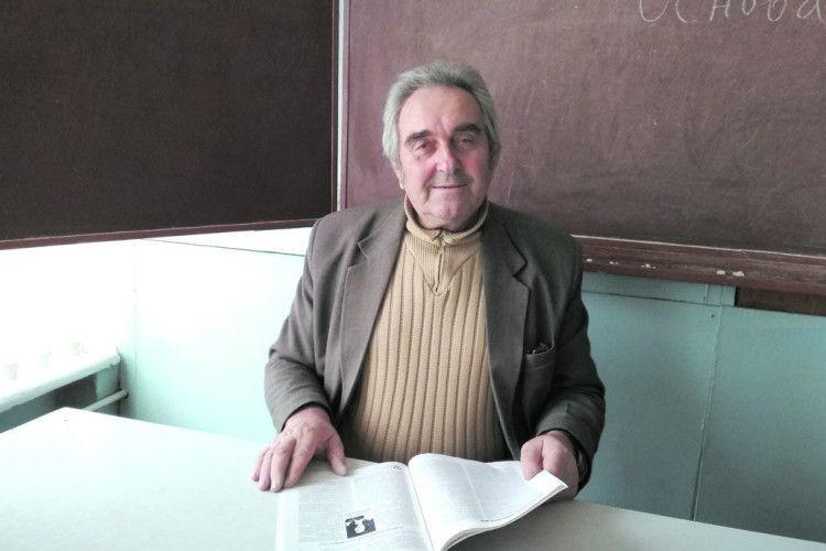 На уроках хімії Євгена Короля звучить поезія Ліни Костенко