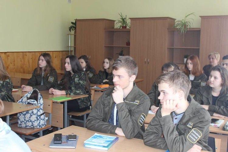 Любешівські школярі мали заняття з болотознавства