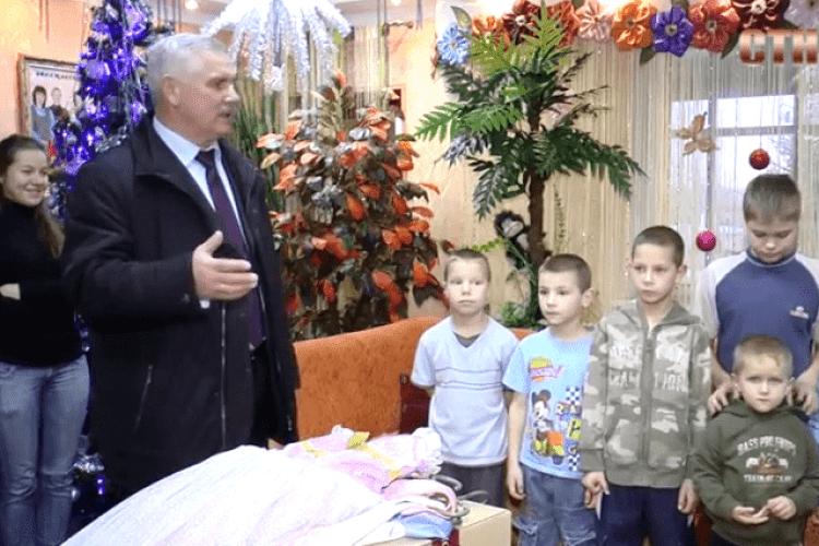 З подарунками – до обездолених дітей