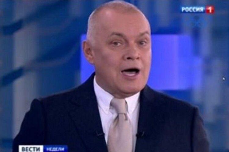 Одіозний кремлівський пропагандист Кисельов лежить в лікарні з двосторонньою пневмонією внаслідок COVID-19