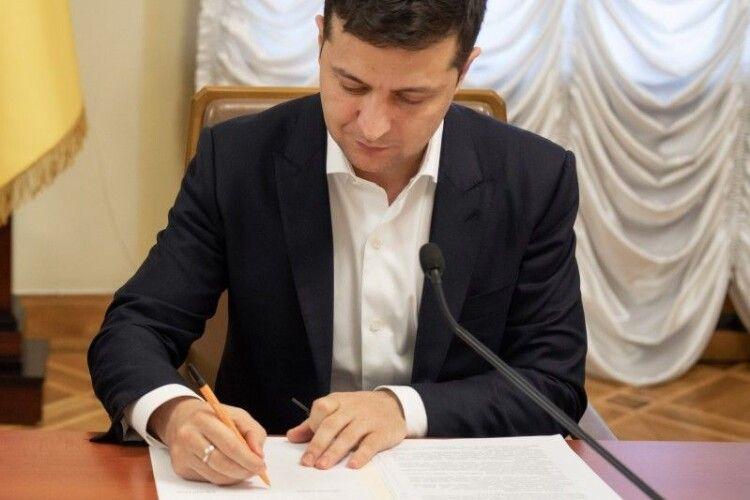 Зеленський призначив у суди Волині двох суддів