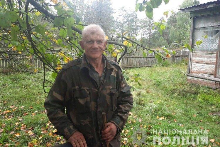 Житель Рівненщини майже три доби блукав у лісі
