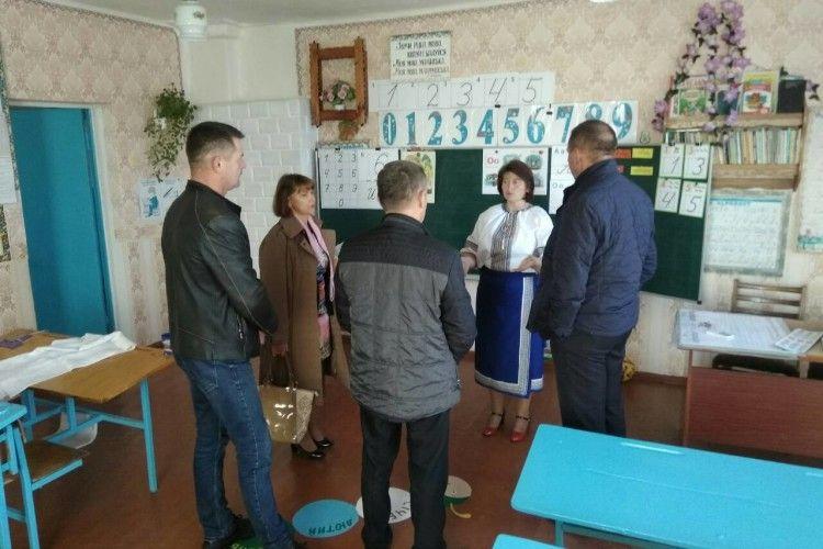 Представники районної влади і День села відзначили, і готовність школи до зими проінспектували