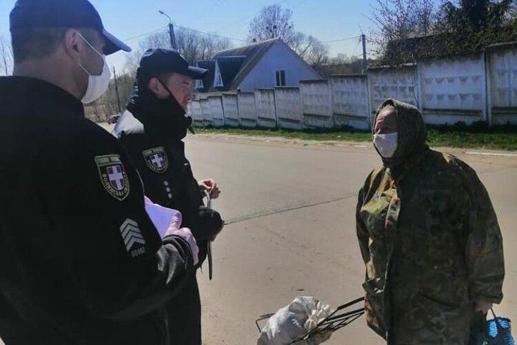 У Локачинському районі за порушення правил карантину покарано одну людину