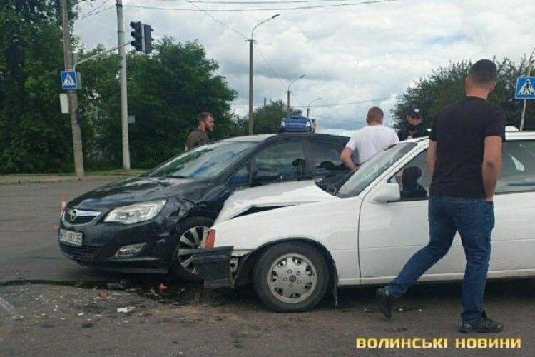 У Луцьку – ДТП на Рівненській