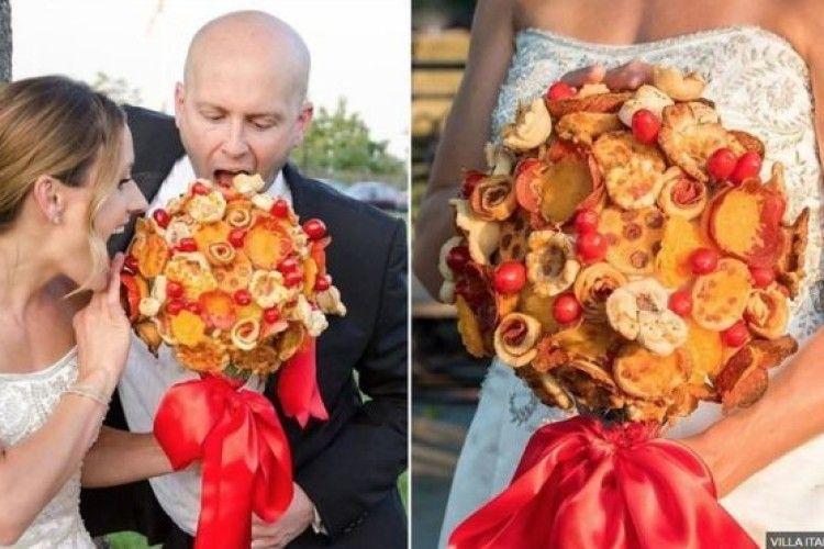 У США молодятам пропонують їстивні весільні букети