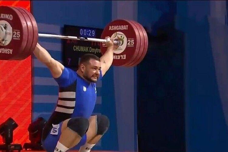 Український важкоатлет взяв два «золота» у Москві
